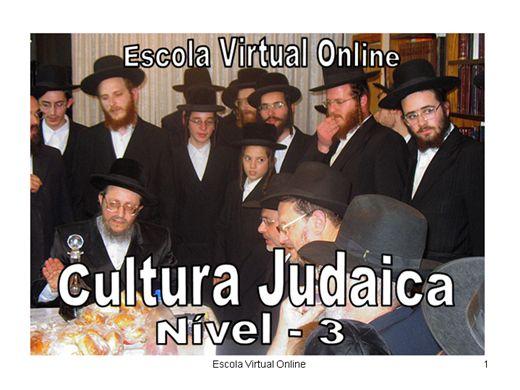 Curso Online de CULTURA JUDAICA - NIVEL 3
