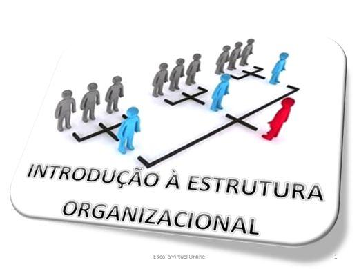 Curso Online de INTRODUÇÃO À ESTRUTURA ORGANIZACIONAL