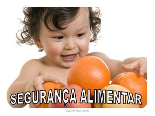 Curso Online de SEGURANÇA ALIMENTAR