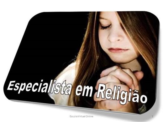 Curso Online de ESPECIALISTA EM RELIGIÃO