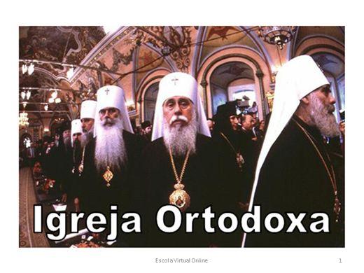 Curso Online de IGREJA ORTODOXA