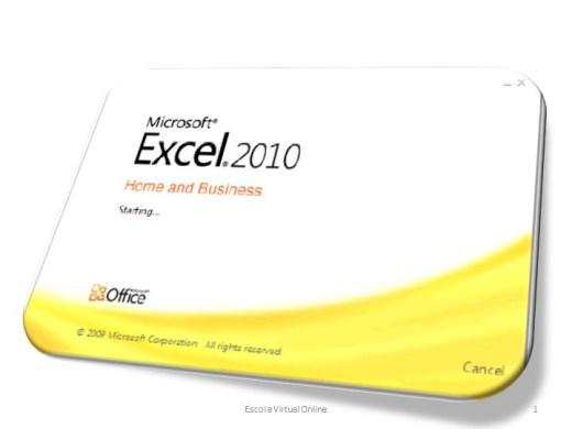 Curso Online de EXCEL 2010