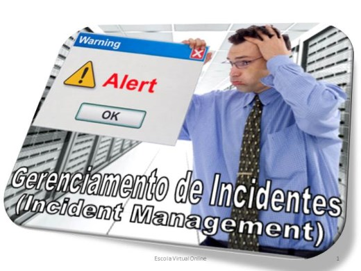 Curso Online de GERENCIAMENTO DE INCIDENTES - (INCIDENT MANAGEMENT)