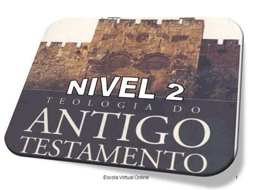Curso Online de TEOLOGIA DO ANTIGO TESTAMENTO - NÍVEL 2