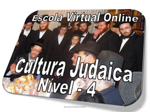 Curso Online de CULTURA JUDAICA - NÍVEL 4