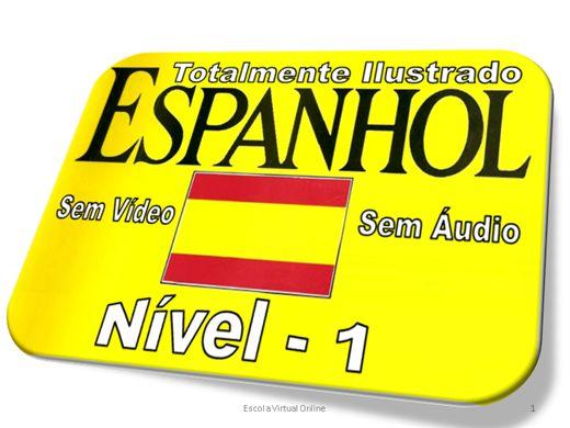 Curso Online de CURSO DE ESPANHOL - NIVEL 1