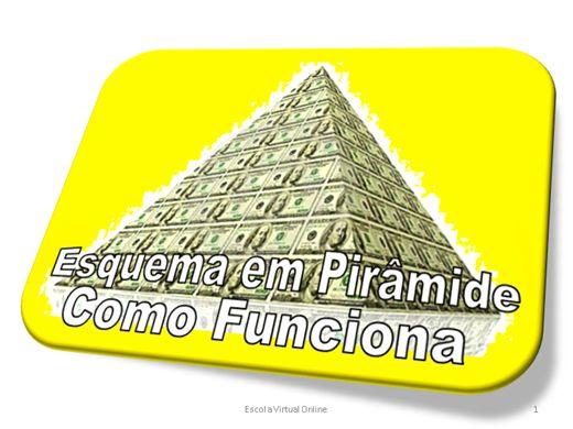 Curso Online de ESQUEMA EM PIRÂMIDE - COMO FUNCIONA