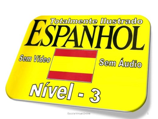Curso Online de CURSO DE ESPANHOL - NIVEL 3