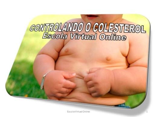 Curso Online de CONTROLANDO O COLESTEROL