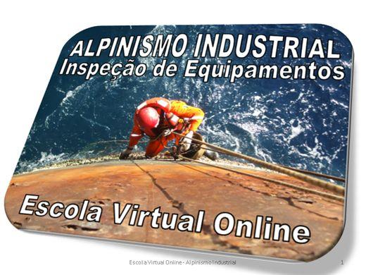 Curso Online de ALPINISMO INDUSTRIAL - INSPEÇÃO DE EQUIPAMENTOS