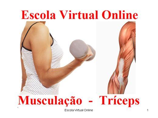 Curso Online de MUSCULAÇÃO - TRÍCEPS