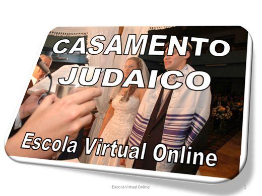 Curso Online de CASAMENTO JUDAICO
