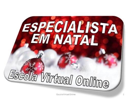 Curso Online de ESPECIALISTA EM NATAL