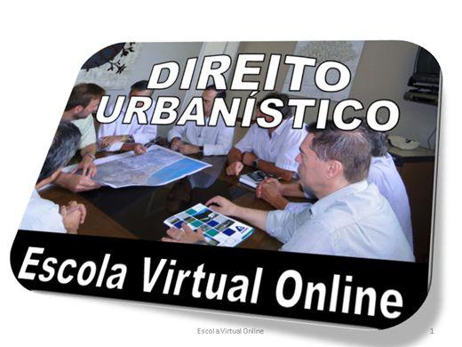Curso Online de DIREITO URBANÍSTICO - INTRODUÇÃO