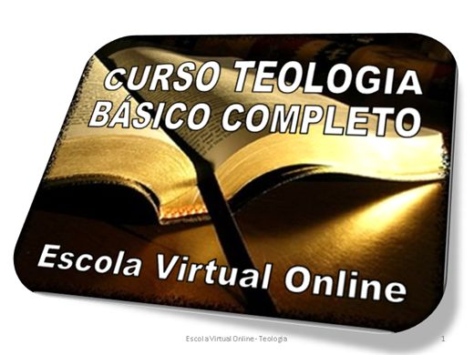 Curso Online de CURSO TEOLOGIA BÁSICO