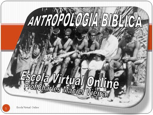 Curso Online de CURSO ANTROPOLOGIA BIBLICA
