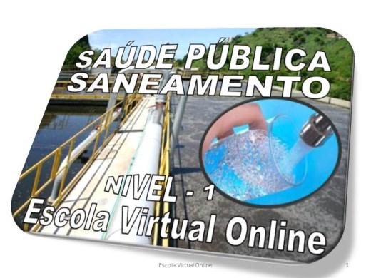 Curso Online de SAÚDE PÚBLICA - SANEAMENTO - NÍVEL 1