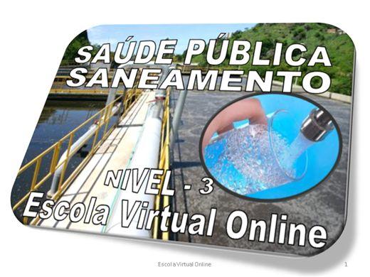 Curso Online de SAÚDE PÚBLICA - SANEAMENTO - NÍVEL 3