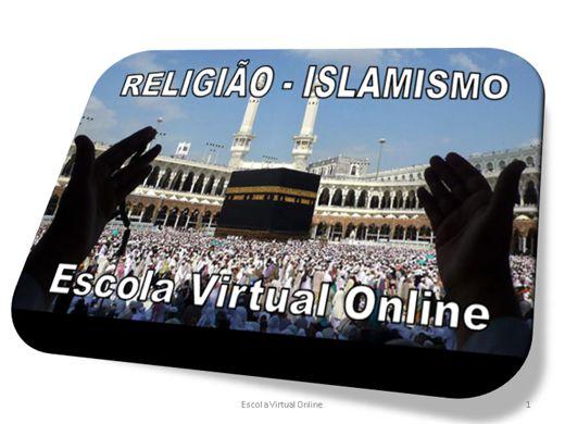 Curso Online de RELIGIÃO - ISLAMISMO