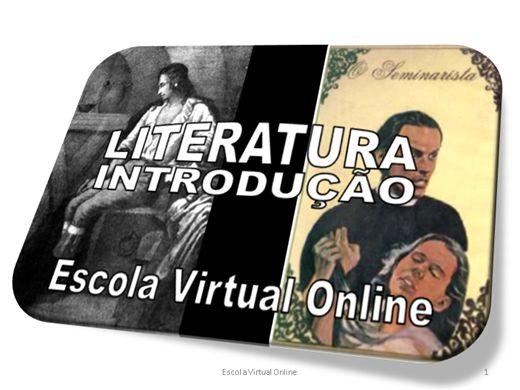 Curso Online de LITERATURA - INTRODUÇÃO