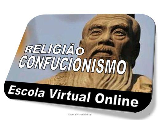 Curso Online de RELIGIÃO - CONFUCIONISMO