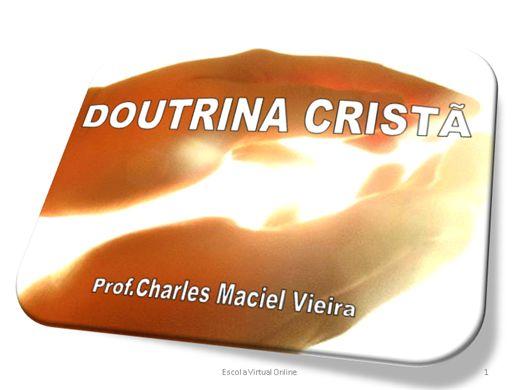 Curso Online de DOUTRINA CRISTÃ