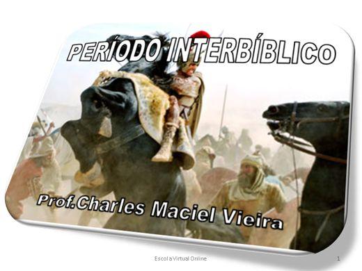 Curso Online de O PERÍODO INTERBIBLICO