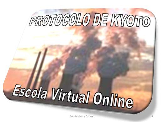 Curso Online de O PROTOCOLO DE KYOTO