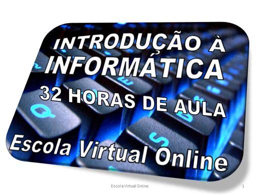 Curso Online de INFORMÁTICA - INTRODUÇÃO