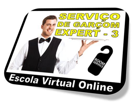 Curso Online de SERVIÇO DE GARÇOM - EXPERT 3