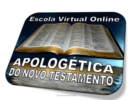 Curso Online de TEOLOGIA - APOLOGÉTICA DO NOVO TESTAMENTO
