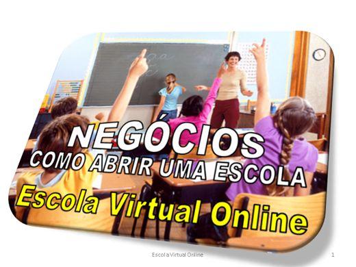Curso Online de NEGÓCIOS - COMO ABRIR UMA ESCOLA