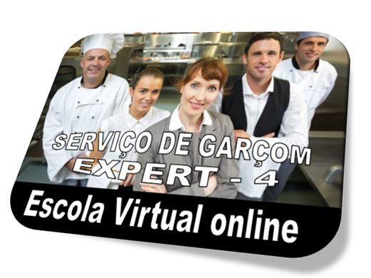 Curso Online de SERVIÇO DE GARÇOM - EXPERT 4