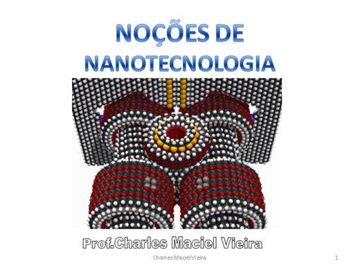Curso Online de NOÇÕES DE NANOTECNOLOGIA