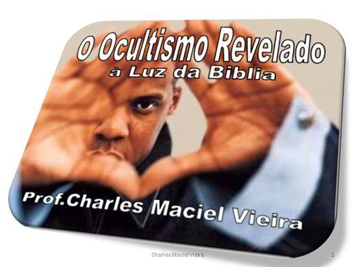 Curso Online de O OCULTISMO REVELADO - À LUZ DA BIBLIA