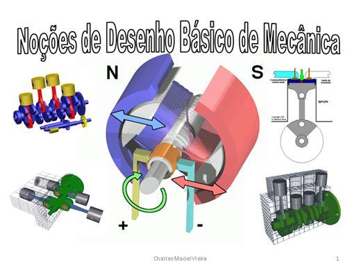 Curso Online de NOÇÕES DE DESENHO BASICO DE MECÂNICA