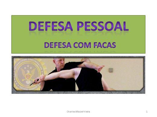 Curso Online de DEFESA PESSOAL - Defesa com facas