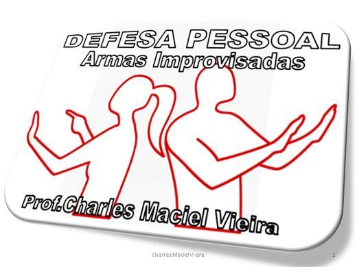 Curso Online de DEFESA PESSOAL - ARMAS IMPROVISADAS