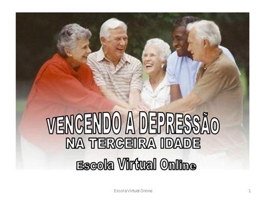 Curso Online de VENCENDO A DEPRESSÃO NA TERCEIRA IDADE