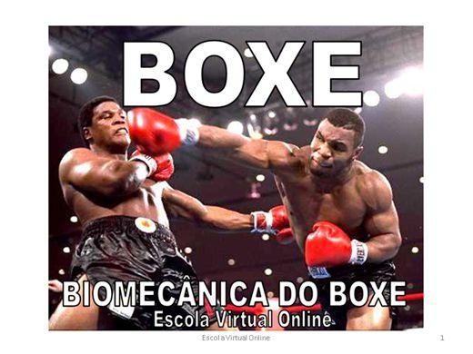 Curso Online de BOXE - Biomecânica do Boxe