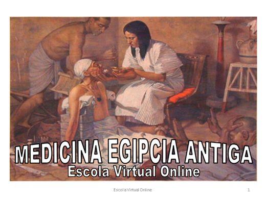 Curso Online de MEDICINA EGIPCIA ANTIGA