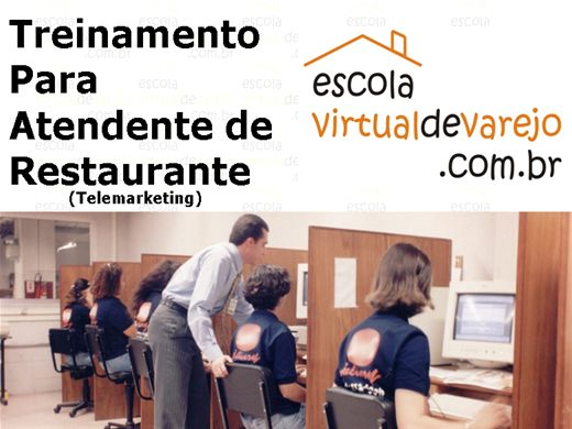 Curso Online de Treinamento Para Atendente de Restaurante (Telemarketing) - Escola Virtual de Varejo