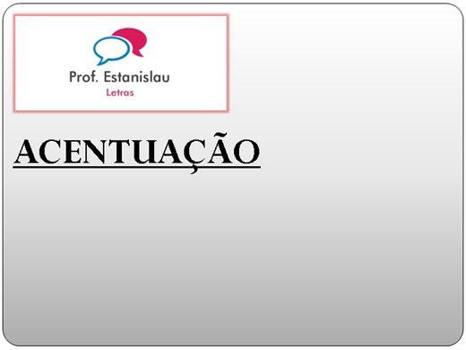Curso Online de Letras: Acentuação