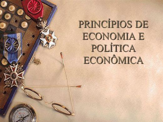 Curso Online de PRINCÍPIOS DE ECONOMIA E POLÍTICA ECONÔMICA