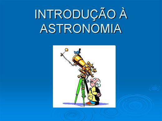 Curso Online de INTRODUÇÃO À ASTRONOMIA