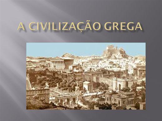 Curso Online de A CIVILIZAÇÃO GREGA