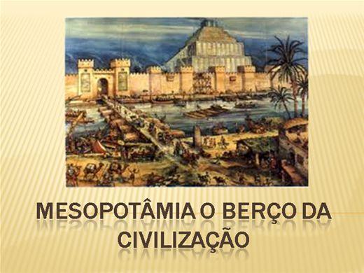 Curso Online de MESOPOTÂMIA O BERÇO DA CIVILIZAÇÃO