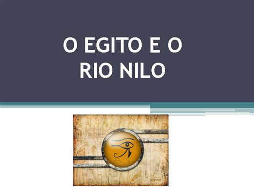 Curso Online de O EGITO E O RIO NILO