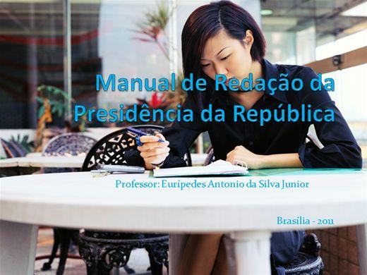 Curso Online de Manual de Redação da Presidência da República