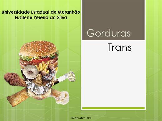 Curso Online de Gorduras Trans